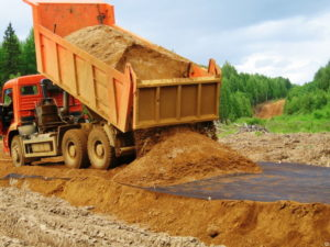 доставка песка цена