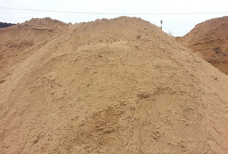 песок строительный доставка
