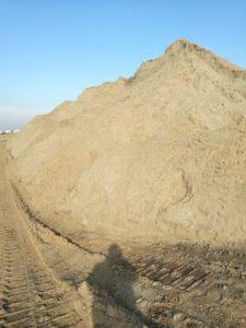 карьер с песком