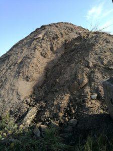 карьер песка
