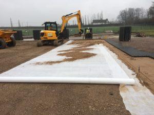 геосинтетика при строительстве дороги