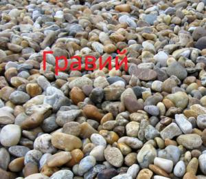 гравий